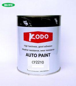 sơn màu trắng 2k